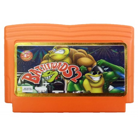 Картридж Dendy Battletoads 2 (Боевые жабы 2)