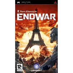Диск PSP Tom Clancy's EndWar  (Essentials)