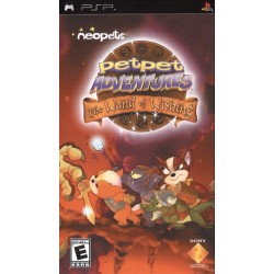 Диск PSP Neopets: Petpet Adventures - The Wand of Wishing