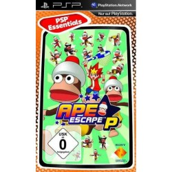 Диск PSP Ape Escape P (Essentials)