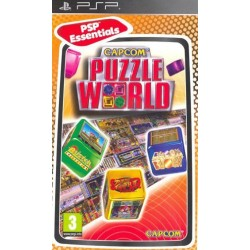 Диск PSP Capcom Puzzle World
