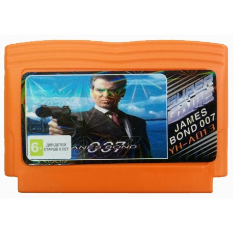 Картридж Dendy James Bond 007