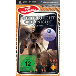 Диск PSP White Knight Cronicles: Origins (Essential) (русская  документация)