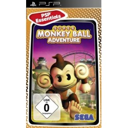Диск PSP Super Monkey Ball Adventure (Essential) (русская версия)