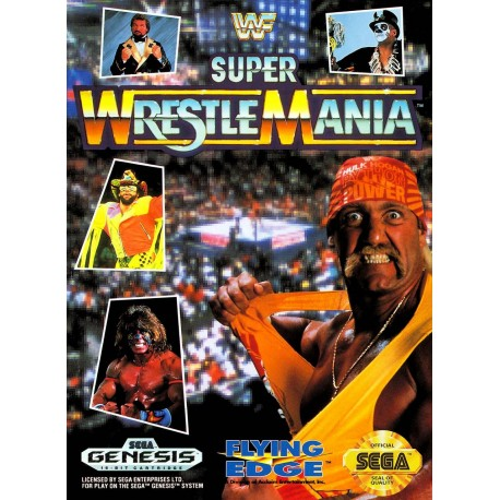 Картридж SEGA WWF Super WrestleMania