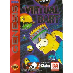 Картридж SEGA Virtual Bart