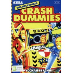 Картридж SEGA The Incredible Crash Dummies (Невероятные манекены)