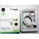 Кабель USB - iPhone 4 Belkin, чёрный