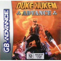 Картридж GBA Duke Nukem Advance (русская версия)