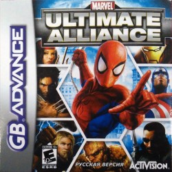 Картридж GBA Marvel Ultimate Alliance (русская версия)