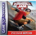 Картридж GBA Tony Hawk's Downhill Jam (русская версия)