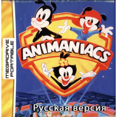 Картридж MDP Animaniacs (русская версия)