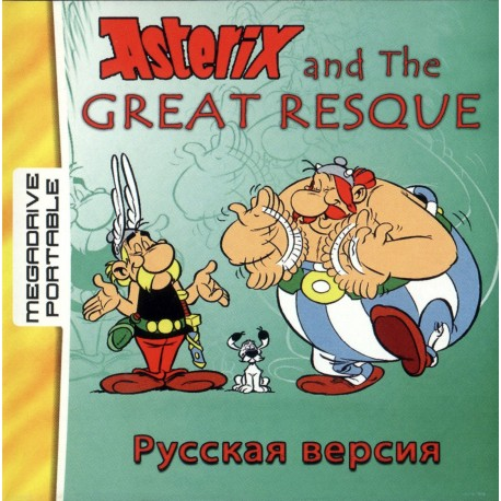 Картридж MDP Asterix and The Great Resque (русская версия)