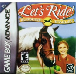 Картридж GBA Lets Ride! - Sunshine Stables