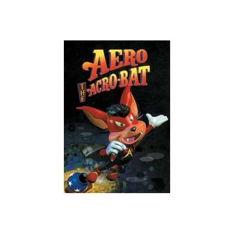 Картридж SEGA Aero the Acro-Bat (на русском)