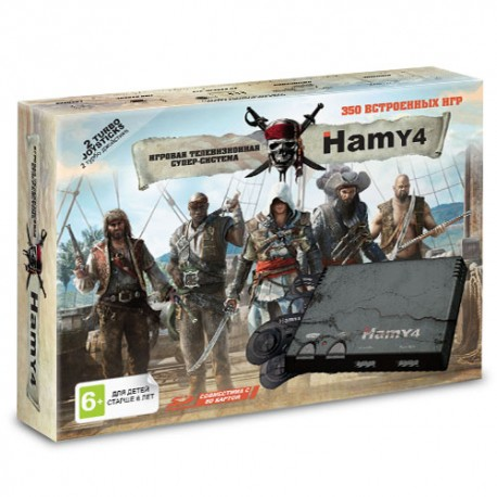 8/16 бит  Hamy 4 SD Assassin (350встр. игр) p