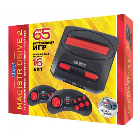 Sega Magistr Drive 2 little (65встр. игр) кр.  p