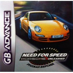 Картридж  GBA Need For Speed Porsche Unleashed (русская версия)