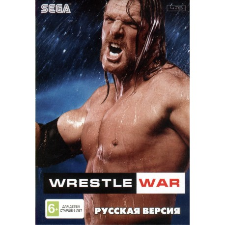 Картридж SEGA Wrestle War (русская версия)