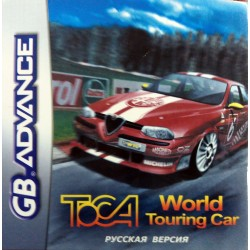 Картридж GBA TOCA World Touring Cars (русская версия)