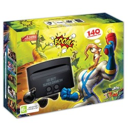 Sega Super Drive Earthworm Jim (140 встроенных игр)