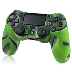 Чехол защитный PS 4 Controller Silicon Case Camouflage Green