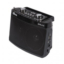 Радиоприемник RITMIX RPR-215 Grey (FM / AM / SW + MP3)
