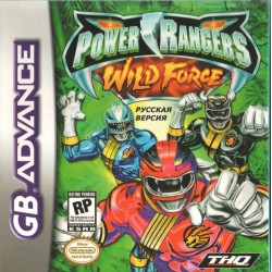 Картридж GBA Power Rangers: Wild Force (русская версия)