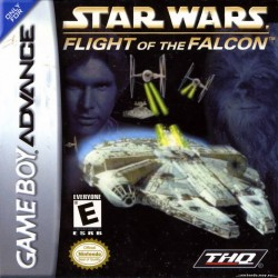 Картридж GBA Star Wars: Flight of the Falcon (русская версия)