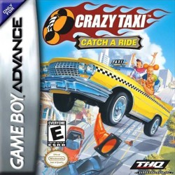 Картридж GBA Crazy Taxi: Catch a Ride  (русская версия)