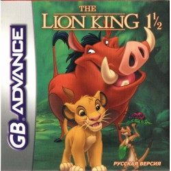 Картридж GBA Lion King 1-1/2  (русская версия)