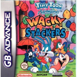 Картридж GBA Tiny Toon Adventures: Wacky Stackers (русская версия)