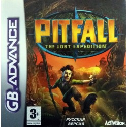 Картридж GBA Pitfall:  The Lost Expedition (русская версия)