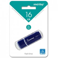 USB 3.0 накопитель 16GB  Smartbuy Crown Blue