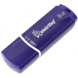 USB 3.0 накопитель 8GB  Smartbuy Crown Blue