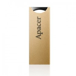 USB 2.0 накопитель 8GB Apacer AH133 Gold
