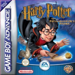 Картридж GBA Harry Potter and the Philosopher's Stone (Harry Potter and the Sorcerer's Stone) (русская версия)