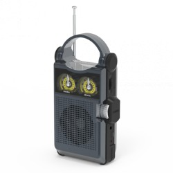 Радиоприемник Ritmix RPR-333 Carbon FM/AM/MP3/USB