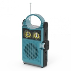 Радиоприемник Ritmix RPR-333 Blue FM/AM/MP3/USB