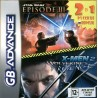 Картридж GBA 2 в 1 [RS-036] (Star Wars Episode III/X-Men 2)