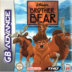 Картридж GBA Disney's Brother Bear (русская версия)