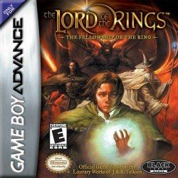 Картридж GBA Lord of Rings: The Fellowship of the Ring (русская версия)