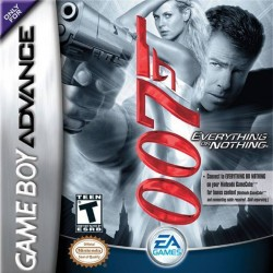 Картридж GBA James Bond 007: Everything or Nothing  (русская версия)
