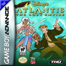Картридж GBA Disney's Atlantis: The Lost Empire