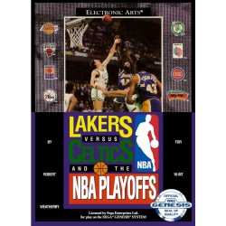 Картридж SEGA Lakers vs Celtics NBA Playoff  (NBA Basketball)