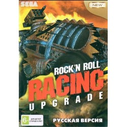 Картридж SEGA Rock'n'Roll Racing  UPGRADE