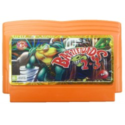 Картридж Dendy Battletoads 2+3 (Боевые жабы 2 и 3)