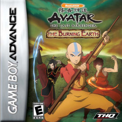Картридж GBA Avatar: The Last Airbender-The Burning Earth (руcская версия)