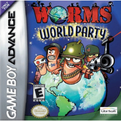 Картридж GBA Worms World Party (русская версия)