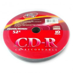 Диск CD-R VS 700mb 52x (по 10 банка)